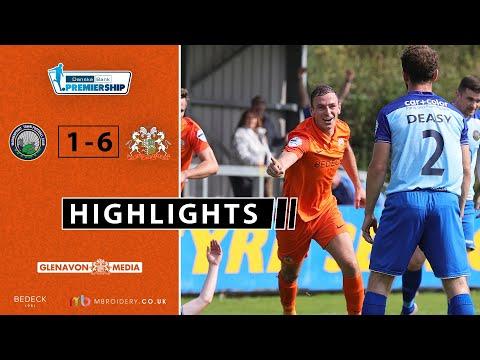 Warrenpoint Glenavon Goals And Highlights