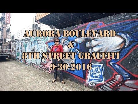 Aurora blvd and 8th Street Graffiti (Quezon City, Philippines)