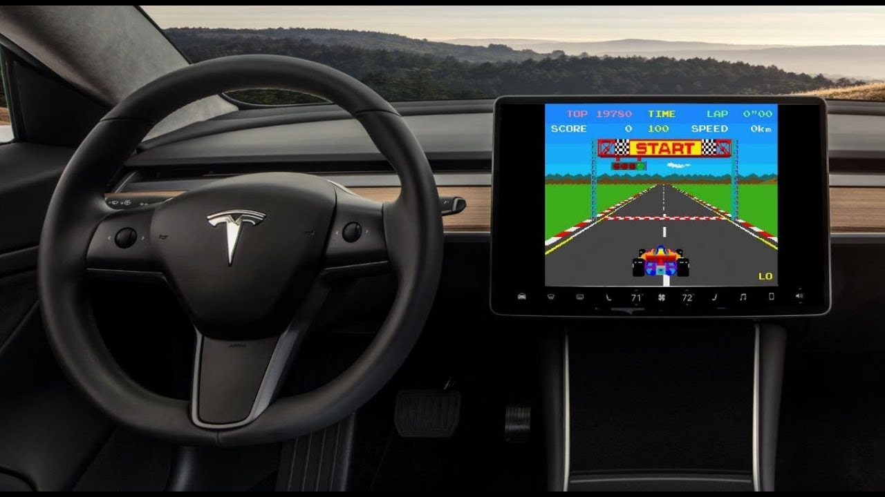 How to Play Atari Games on the Tesla Model 3 (with ...