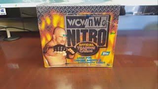 Hobby Box Break: Topps WCW/NWO Nitro 1999 - Huge Hit!