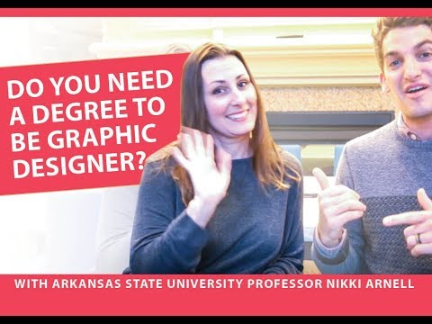 Graphic Design Do You Need an Accredited Degree to be a Graphic Designer with Nikki Arnell