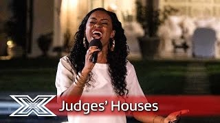 Relley C hopes to go the distance with Kelly Clarkson cover | Judges' Houses | The X Factor 2016