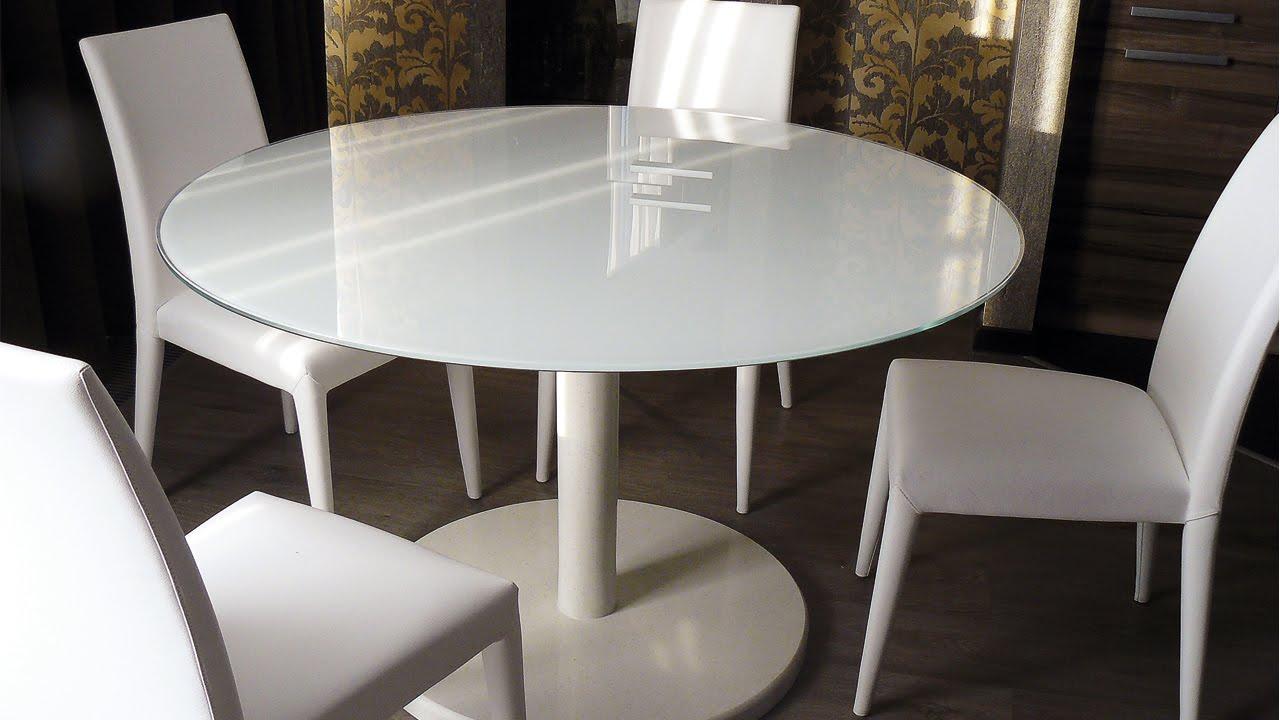Обеденный раздвижной стол со стеклом «Танго Т2» С-362 | Стул «Этюд .