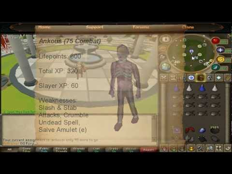 [RS] Runescape Ankou Slayer Guide 2012 | Commentary | HD