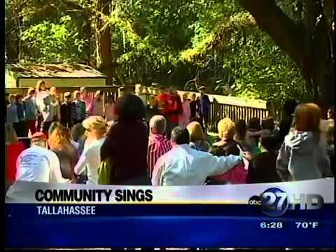 Community Sing at Cornerstone Learning Community