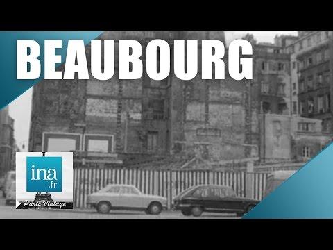 Beaubourg avant le Centre Pompidou | Archive INA