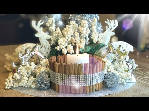 ✨ Rustic Glam Centerpiece ✨ DIY Christmas Decorations!