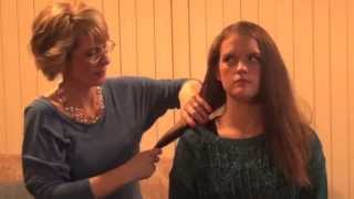 H2D Linear II one pass hair straightener demonstration Thumbnail