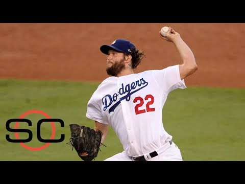 Clayton Kershaw attacking the strike zone made him dominant in Game 1 | SportsCenter | ESPN