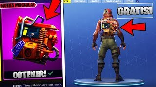 EXCLUSIF GRATUIT MOCHILA à Fortnite! - GET THE RUST LORD MOCHILA à Fortnite Battle Royale