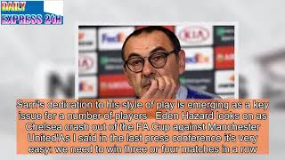 Chelsea boss Maurizio Sarri admits he is 'not sure' about his future