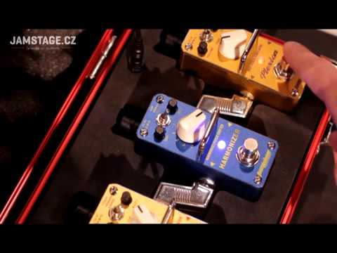 Pedal Tom Shine - Harmonizer/ Pitch Shifter (polifônico)