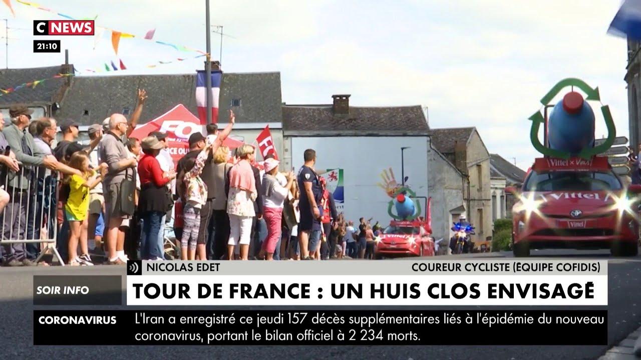 Tour de France : un huis clos envisagé