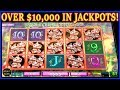 🤯 OVER $10,000 IN JACKPOTS ❗️ 🤯 GREATEST HITS HIGH LIMIT SLOT MACHINE