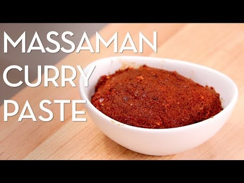 Massaman Curry Paste Recipe Hot Thai Kitchen