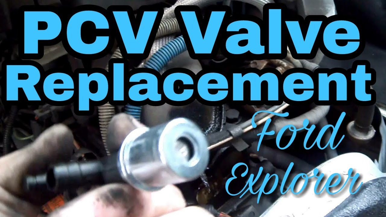 Ford 2 5 Liter Engine Diagram Ford Explorer Pcv Valve Replacement Youtube