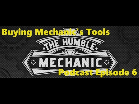 Buying Mechanic's Tools Podcast Episode 6