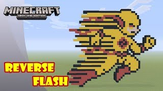 Minecraft: Pixel Art Tutorial and Showcase: Reverse Flash (The Flash)