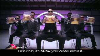 Virgin America's New Safety Video - The Song #VXsafetydance