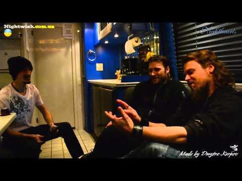 Interview with Henrik and Marko of Sonata Arctica (Toronto, Canada. 11.12.2012)