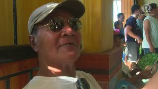 Barangay Elections 2018: Limp grandfather among early birds