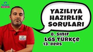 Yazılıya Hazırlık Soruları | 2021 LGS Türkçe Konu Anlatımları #8trkc