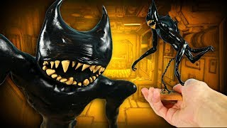 Making BEAST BENDY from Bendy and the Ink Machine Chapter 5 in POLYMER CLAY!