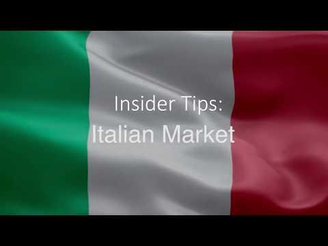 Insider Tips  Italian Market ¦ Niamh Kinsella from the Tourism Ireland, Milan office