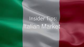 Insider Tips  Italian Market ¦ Niamh Kinsella from the Tourism Ireland, Milan office thumbnail
