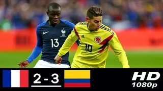 Frans  vs Colombia 2-2