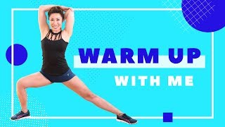 Apartment Friendly Warmup - Do this before your workout!!
