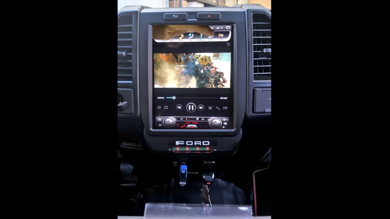 T Style F150 Youtube 2015 Ford F 150 Navigation Radio