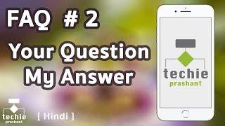 Gambar cover FAQ #2 - HINDI - Apple Id, Debit Card Declined App Store, iPhone Call Recording App, iCloud.