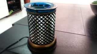 Scentsy Blue Diamond Lamp shade warmer review