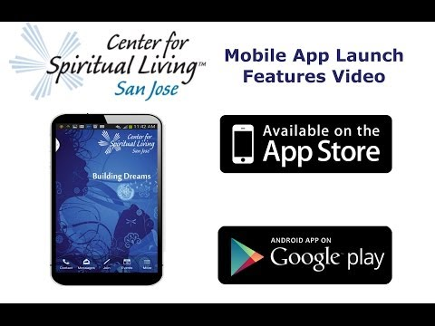 Mobile App for Center for Spiritual Living San Jose