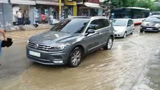 Rrebesh shiu ne Tirane