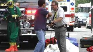 WNBC Cameraman Attacked By A Suffolk County EMS Officer