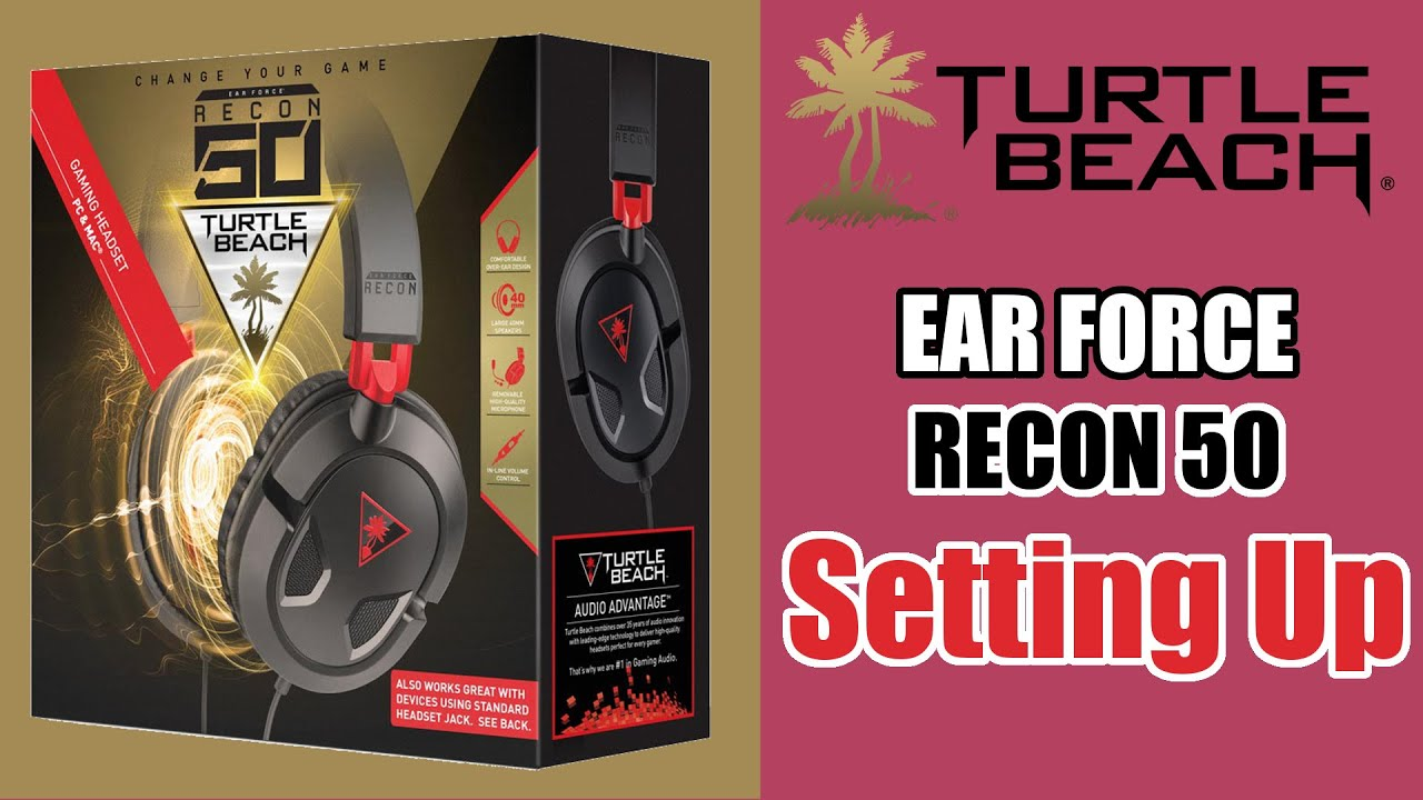 7186d7fdabb How To: Set Up The Turtle Beach Ear Force Recon 50 (On Windows PC ...