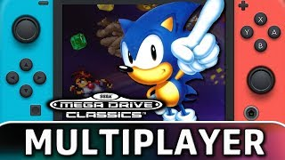 SEGA Mega Drive Classics | Multiplayer Gameplay on Switch