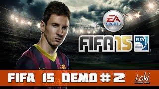 FIFA 15 DEMO PC: Барселона - Наполи