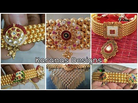 Galsari jewellery / Latest Thusi Design / Maharashtra jewellery / Balls Necklace Design