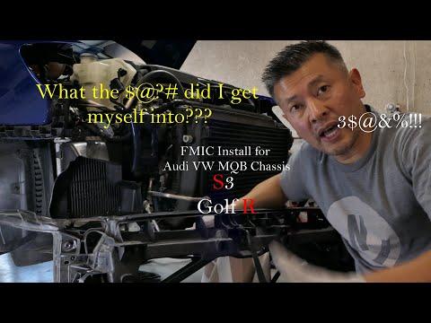 S3 – MK7 Golf R FMIC Install DIY for Audi & VW MQB Chassis, A3/GTI