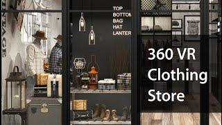 [VR360]빈티지 남성의류매장VR,랜선집들이,Vint…