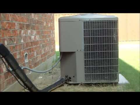 Startup/shutdown of my Guardian 4 ton Central Air Conditioner on a Warm August Morning!