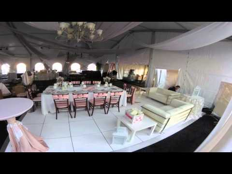 We Carpet and Furnish Event Install in :45 Seconds!