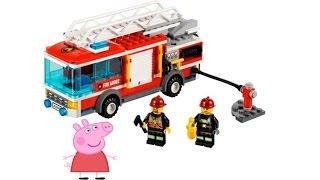 Пеппа и пожарная машина. Свинка Пеппа на русском без рамок и рекламы