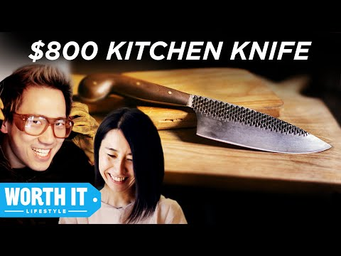 $8 Kitchen Knife Vs. $800 Kitchen Knife