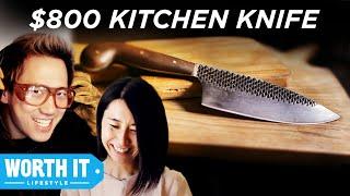 $8 Kitchen Knife Vs. $800 Kitchen Knife thumbnail