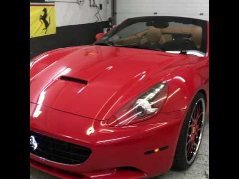 Ferrari California upgrades - YouTube