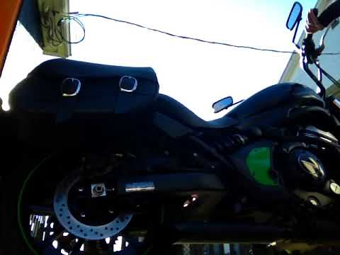 Vulcan s voodoo industries slip-on exhaust audio